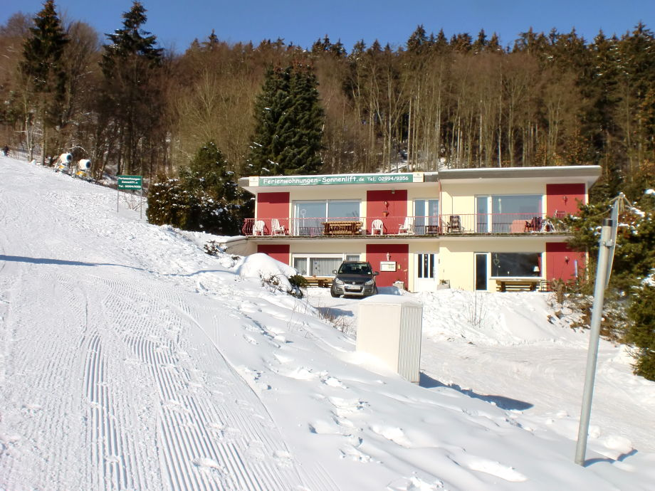 Haus Sonnenlift im Winter