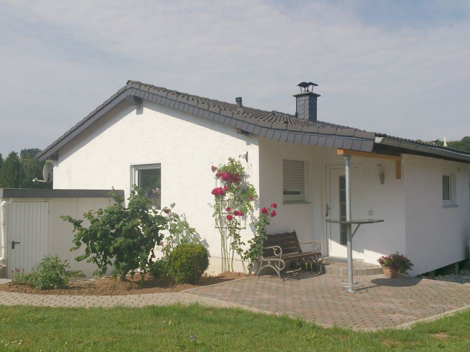 Außenaufnahme Ferienhaus-Rothaarsteig