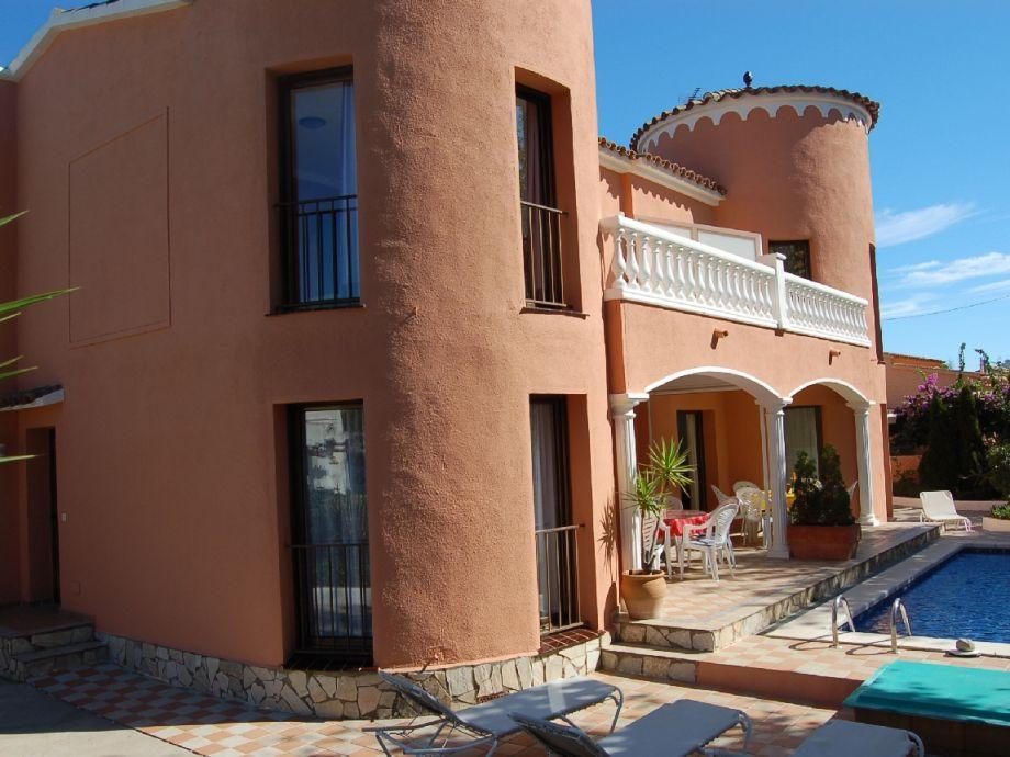 Villa Montgri A + B mit Pool, Klima je Haus f. 6 Pers.