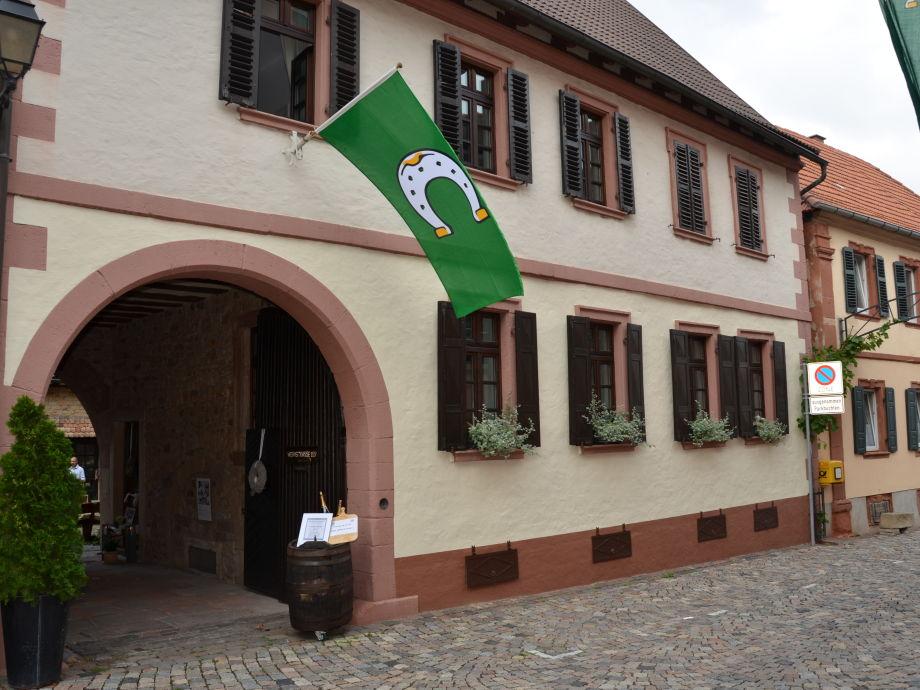 Außenaufnahme im Winzerhof D&B