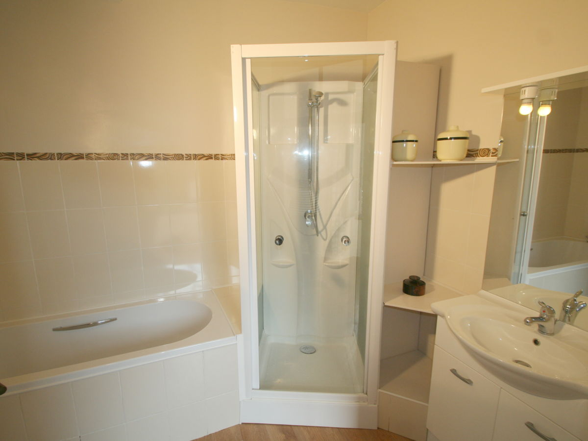apartment mas manyaques languedoc roussillon pyr 233 n 233 es separate bath and shower in small bathroom bathroom