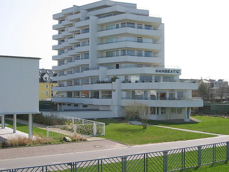 Ferienwohnung mit Meerblick - Haus Hanseatic