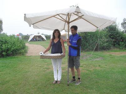 Ihr Gastgeber Gilles und Corrie Geschiere