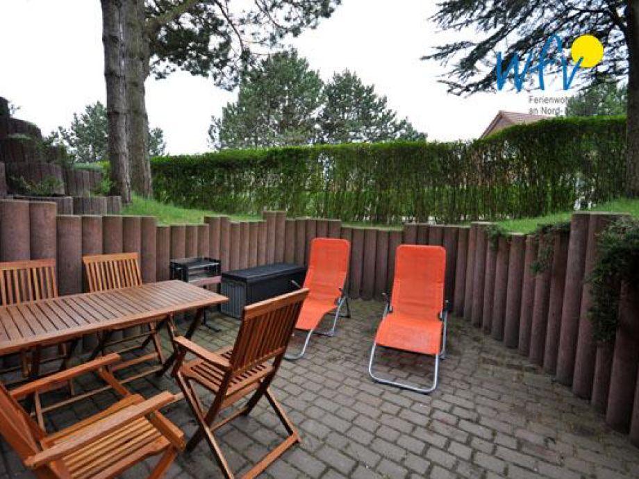 Terrasse mit kompletter Ausstattung