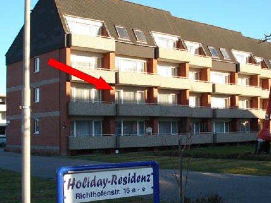 Ferienwohnung in der Holiday Residenz