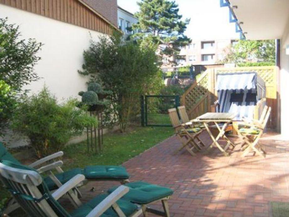 Terrasse für entspannte Sonnenstunden