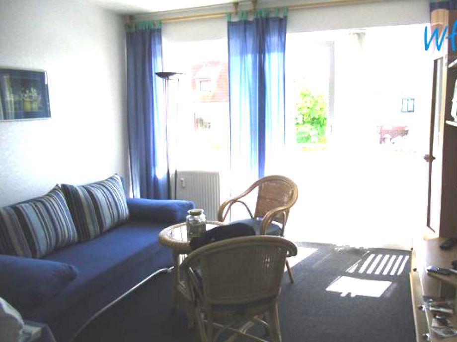 Wohnzimmer mit dem Schlafsofa