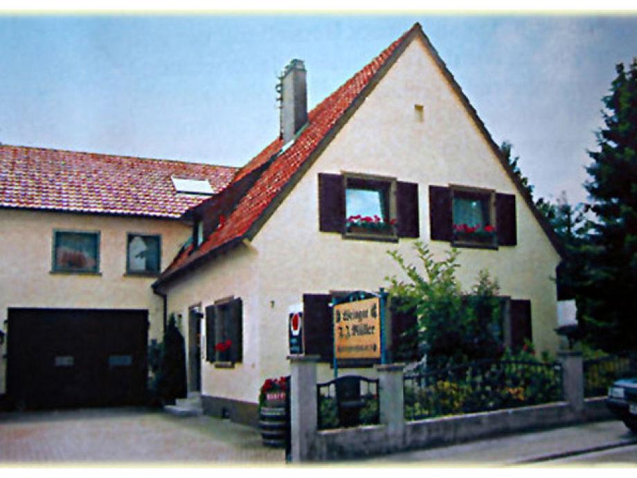 Unser Haus mit der Ferienwohnung Andrea Jung