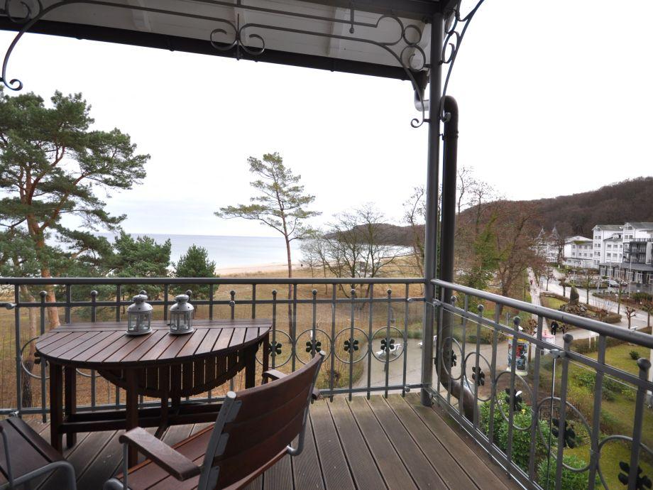 Phantastischer Meerblick vom Balkon