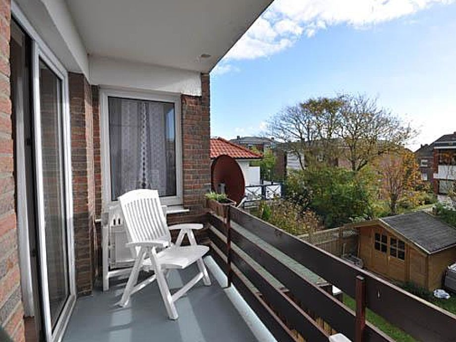 Balkon mit Blick nach draußen