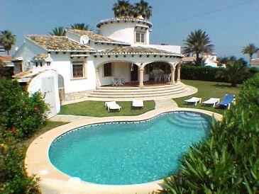 Villa 50 m zum Strand, Denia Costa Blanca