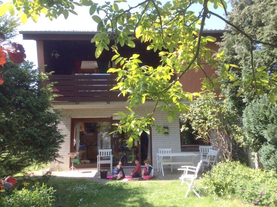 Haus Schlei-Engel Gartenansicht 1