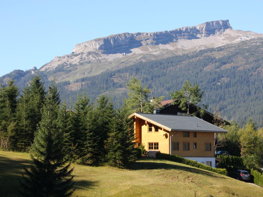 Ferienhaus Blick zum Ifen