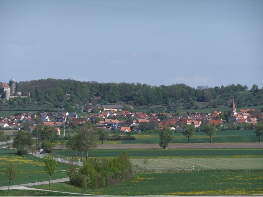 Colmberg im Naturpark Frankenhöhe