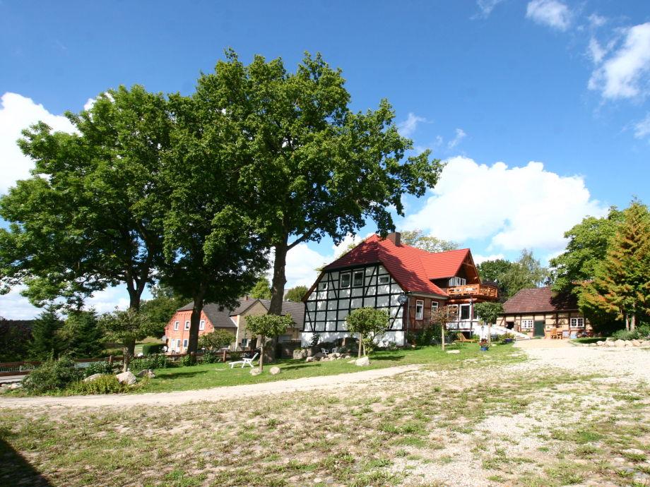 Einfahrt zum Landhaus in Malente-Nüchel