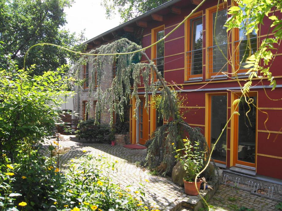 Ferienhaus rote Remise von außen