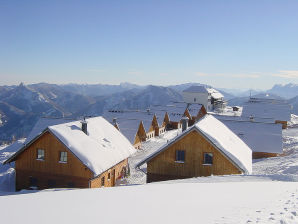 Ferienhaus Alpen Berghütte Sonnstein Panorama
