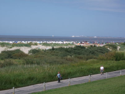 Our Location is close to Northsea at Möwenweg 1C