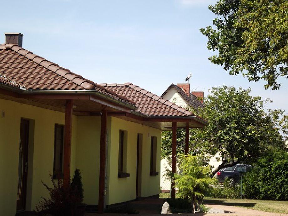 Außenaufnahme bei Familie Gau in Schaprode (Ortsteil Poggenhof)