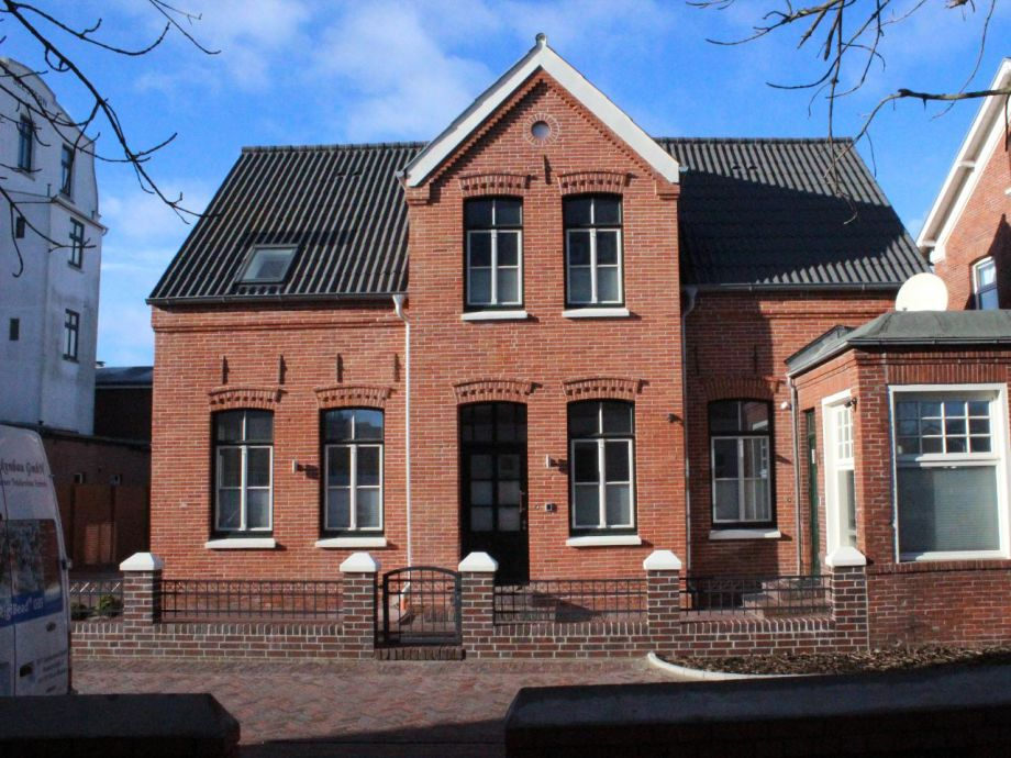 Außenaufnahme Altstadt Haus am Meer Wohnung 1 Lütje Hörn
