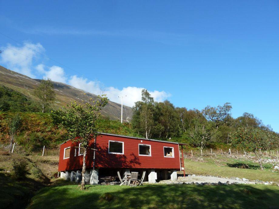 Außenansicht des Tiranui Lodge