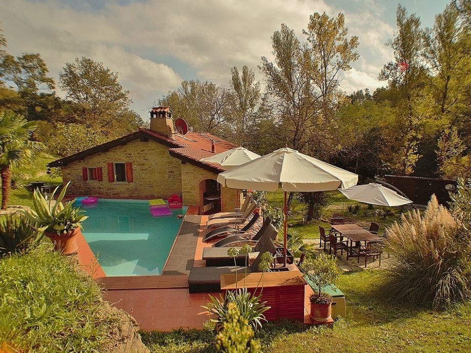chill ecke wohnzimmer:Ferienhaus in der Toskana Molino della Torre, Toskana, Italien,Arezzo