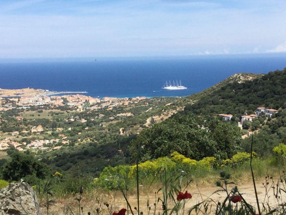 Die Aussicht ,der Viermaster von Club Med