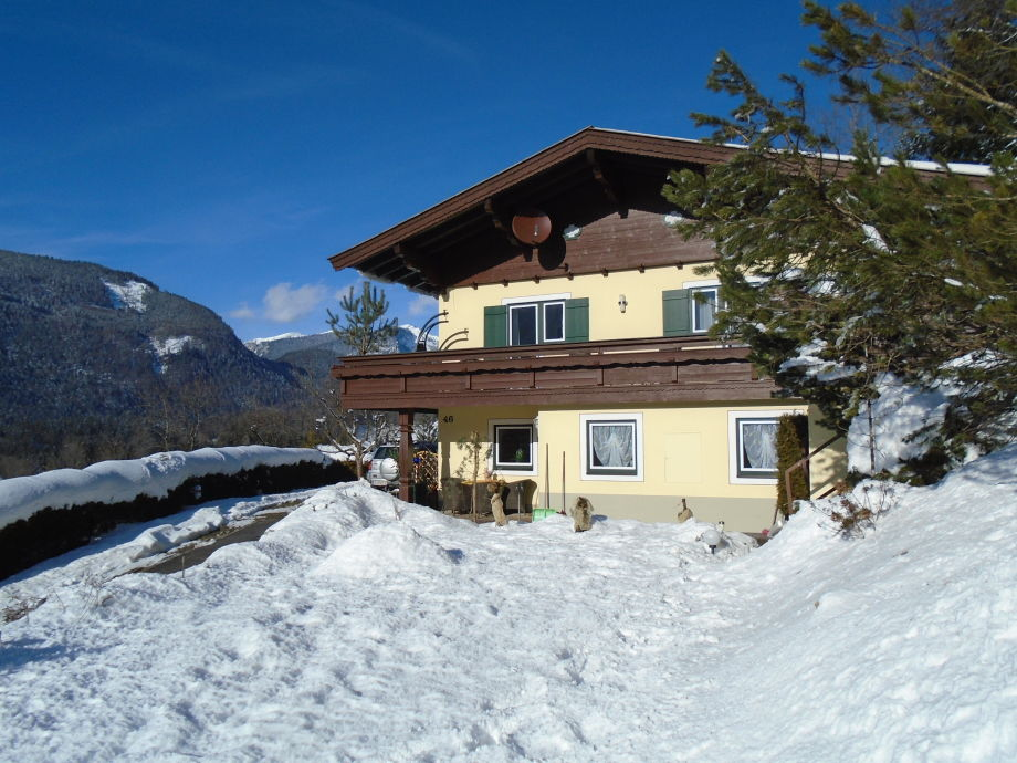 Ferienhaus Lofer Winter