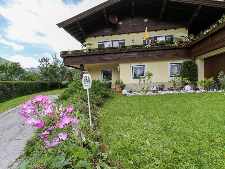 Ferienhaus Lofer Au Sommer