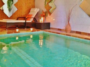 Ferienhaus mit hauseigener Wellnessoase