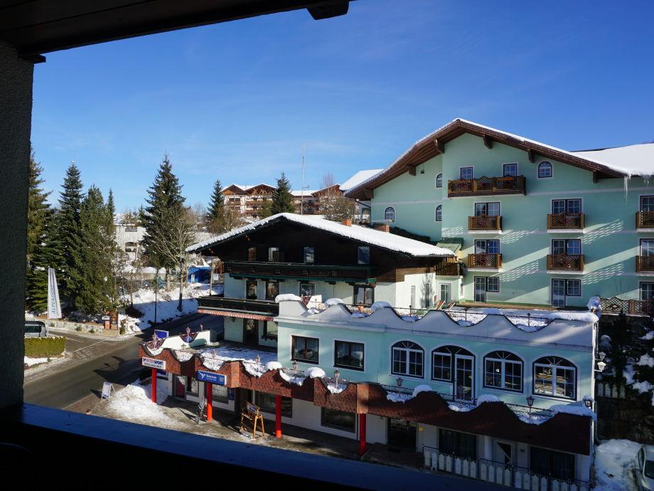 Außenaufnahme Appartement Alpendorf