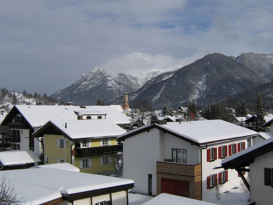 Mittenwald vom Balkon