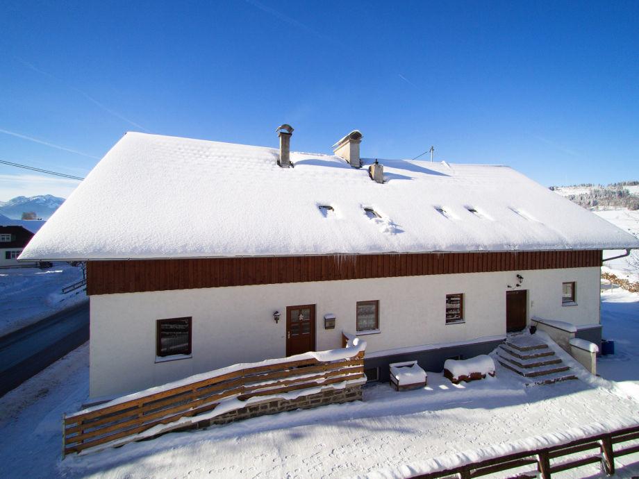 Außenaufnahme Ferienhaus Alte Sennerei - Sennkitchen
