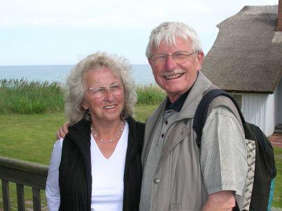 Ihr Gastgeber Helge-Elisabeth und Hermann Wegmann