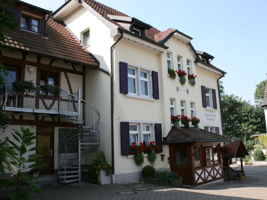 Ferienwohnung badblick typ c markgr flerland baden for Appart hotel 45