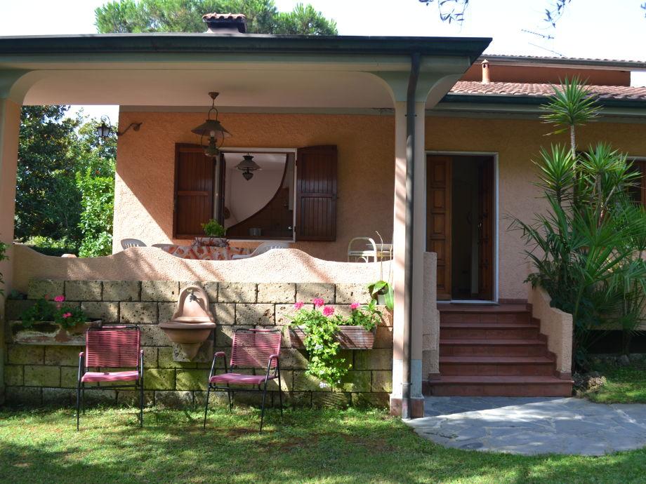 Eingang zur Casa Silvana