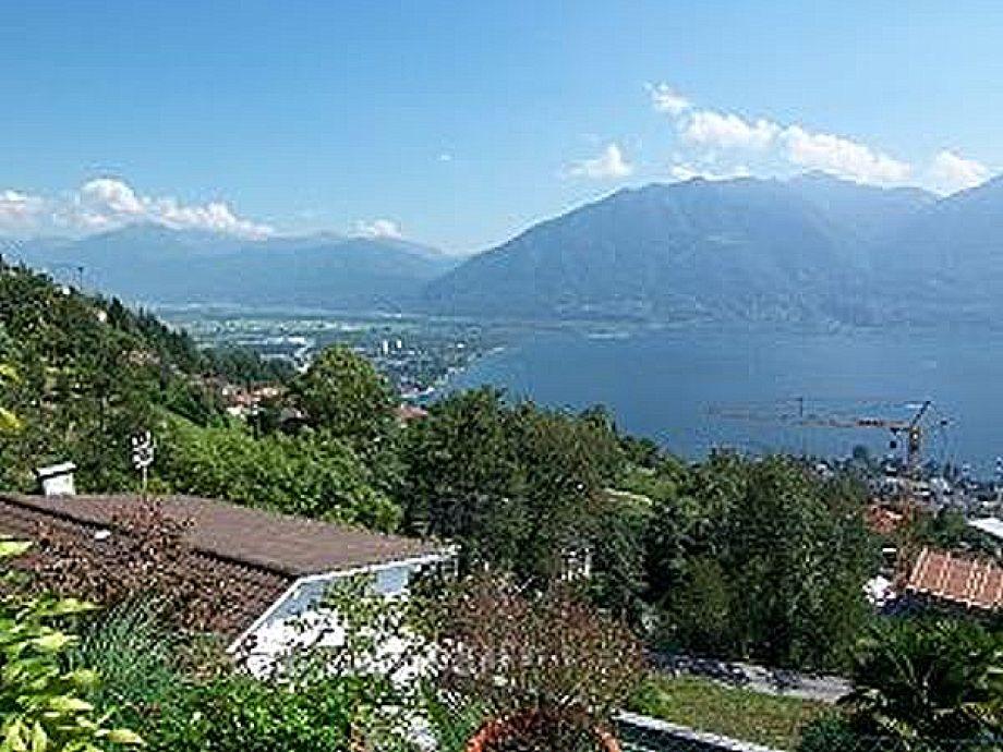 Sicht auf den Lago Maggiore