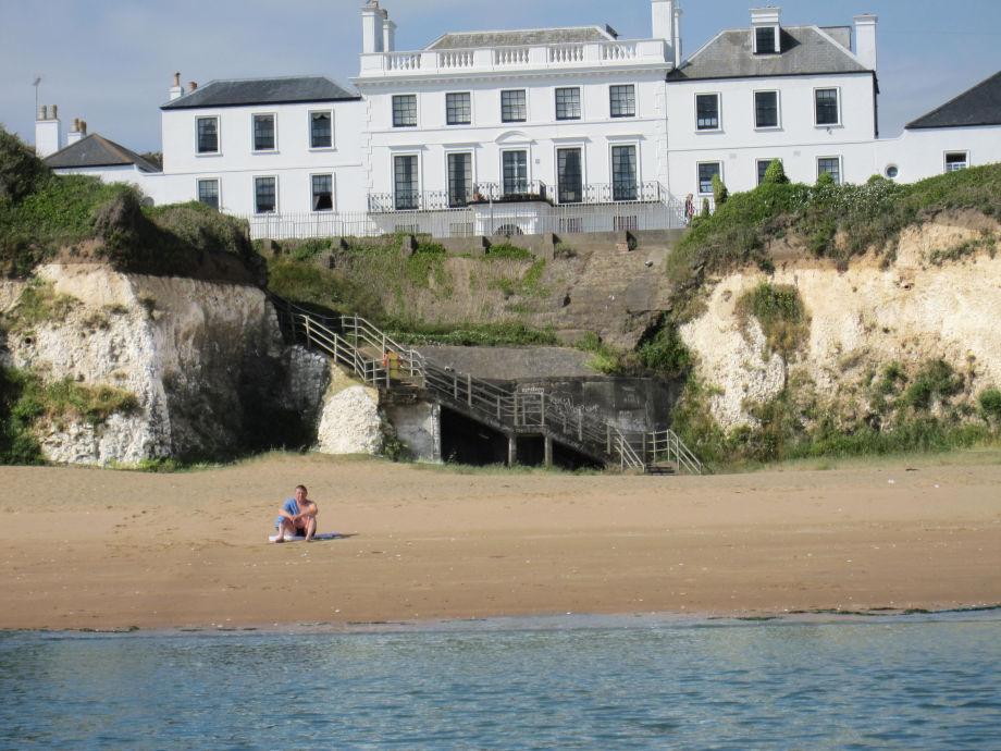 Strand und Haus