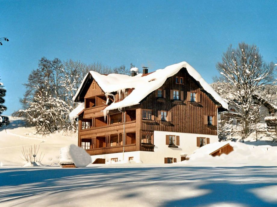 Haus Reute im Winter