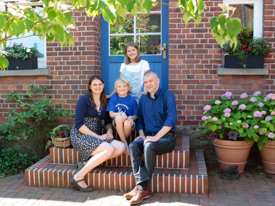 Dat lüttge Hus - Gastgeber-Familie Schröder