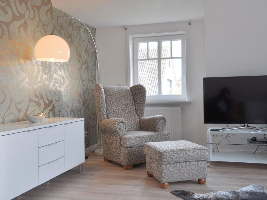 Wohnzimmer mit Lese-Nische