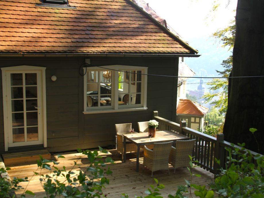 Gästehaus: Terrasse