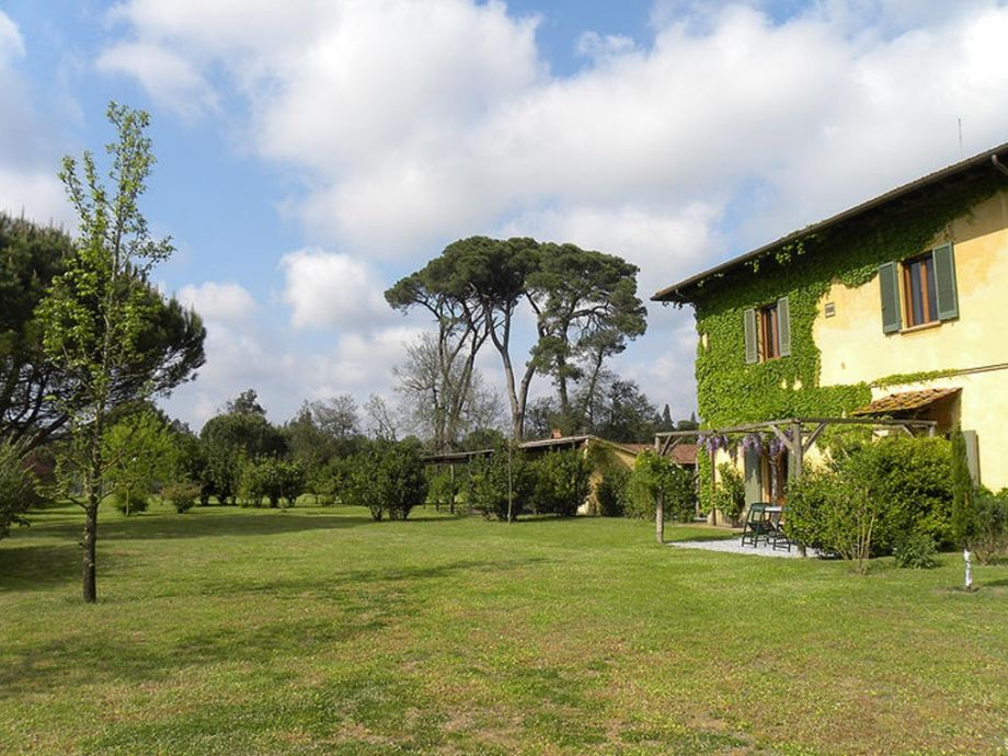 Landhaus und Garten