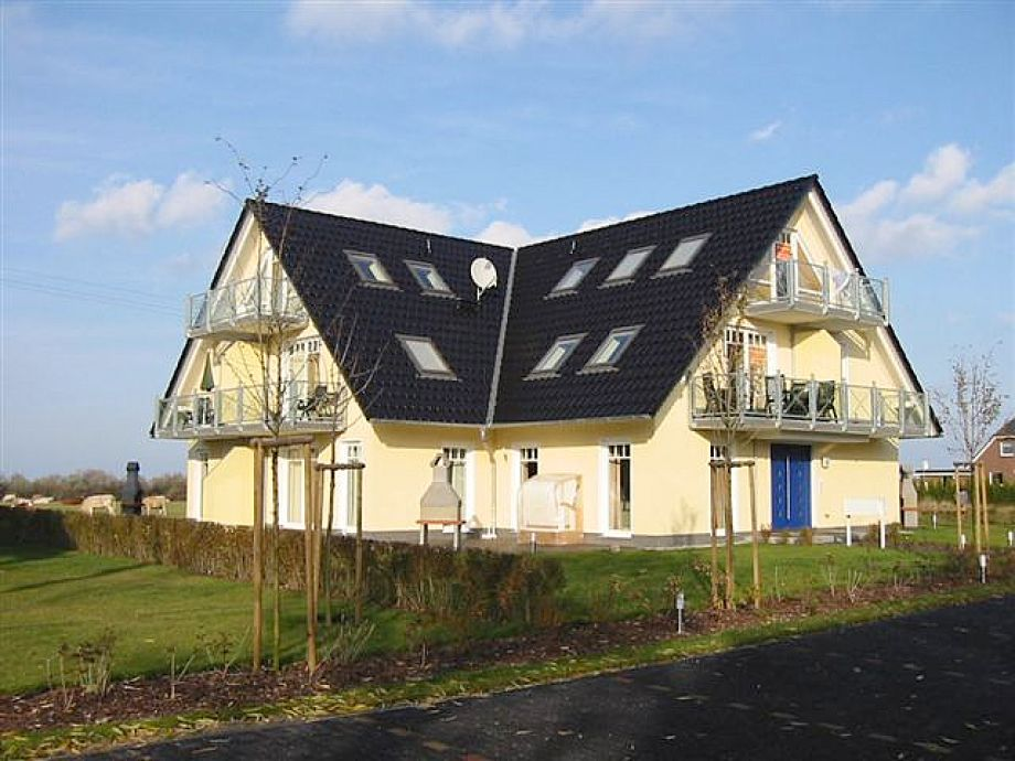 Blick auf Haus Ostseeblick