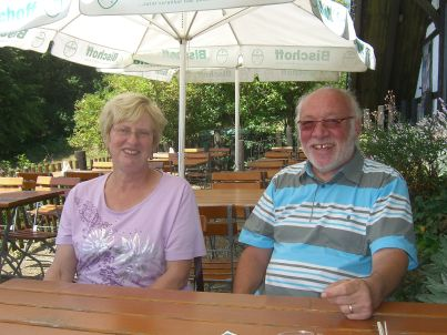 Ihr Gastgeber Kurt und Eveline Bautz