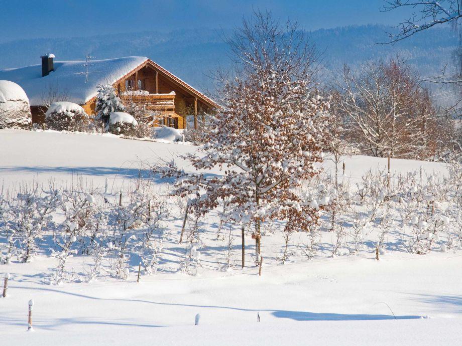 Eingebettet in herrlicher Schneelandschaft