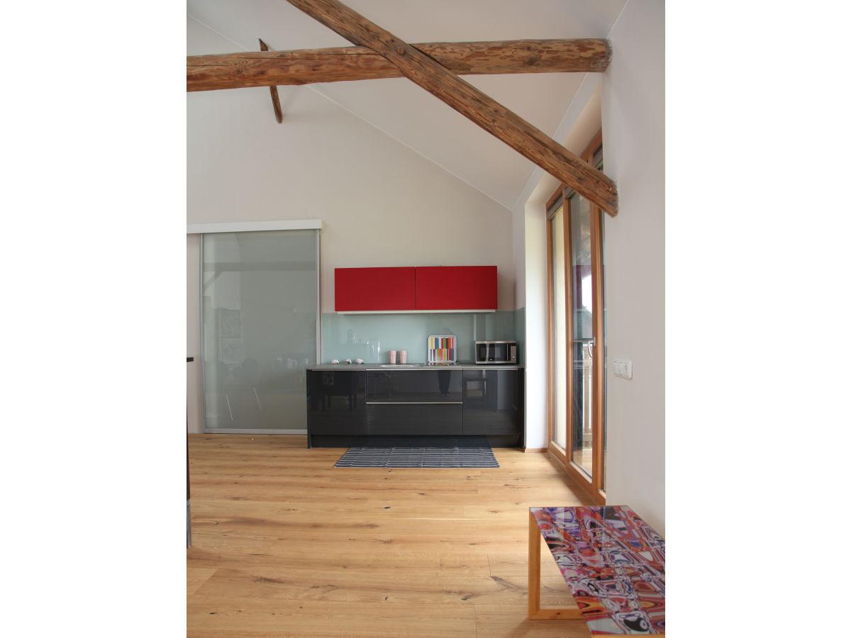 ferienwohnung loft am land salzburger seengebiet frau. Black Bedroom Furniture Sets. Home Design Ideas