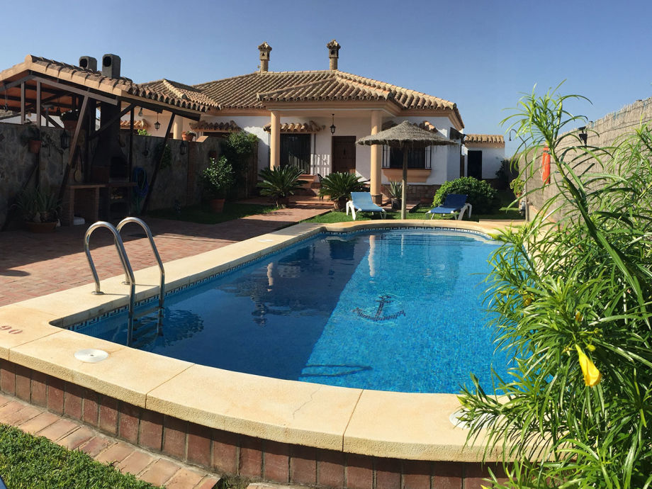 Ferienhaus mit Pool in Roche Viejo bei Conil