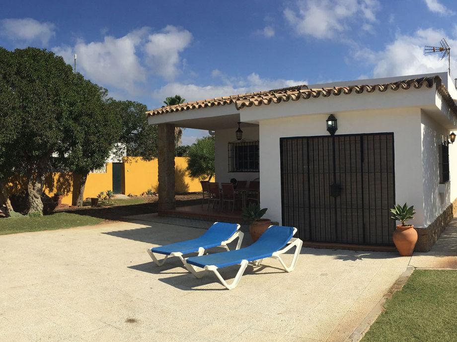 Beach villa El Palmar