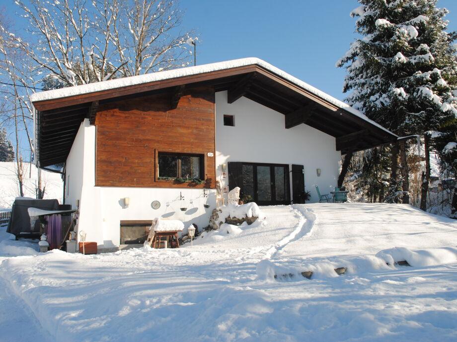 Unser Appartement im Winter